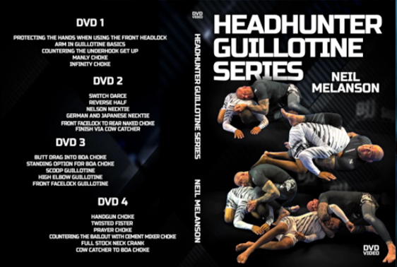 The Headhunter Guillotine Series by Neil Melanson
